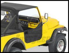 BESTOP Half Doors In Black Crush For 1976-86 Jeep CJ7 & CJ8 53028-01