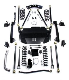 "TeraFlex 4"" Pro LCG Long Flexarm Suspension System w/out Shocks For 1997-06 Jeep Wrangler TJ 1449474"