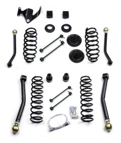 "TeraFlex 3"" Suspension System With 4 Full FlexArm Without Shocks For 2007+ Jeep Wrangler JK Unlimited 4 Door 1456200"