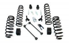 "TeraFlex 2.5"" Suspension Lift Kit Basic With Shock Adapters For 2007-18 Jeep Wrangler JK 2 Door 1352002"