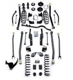 "TeraFlex 4"" Long Arm Suspension Lift Kit No Shocks ELITE LCG For 2007+ Jeep Wrangler JK 4 Door Unlimited 1457400"