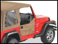 BESTOP Half Doors In Spice Denim For 1997-06 Wrangler TJ & Wrangler TJ Unlimited 53039-37