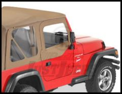 BESTOP Fabric Replacement Upper Door Skins In Spice Denim For 1997-06 Wrangler TJ & Wrangler TJ Unlimited 53121-37