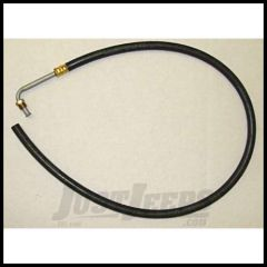 Omix-ADA Power Steering Return Hose For 1976-79 Jeep CJ Series With 6 Cyl or V8 (Flared Style) 18014.01