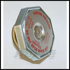 Omix-ADA Radiator Cap 16lbs For 1974-86 Jeep CJ Series, 1987-93 YJ, 1984-95 XJ, 1980-91 Wagoneer SJ 17108.02