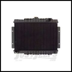 Omix-ADA Radiator 3-Core For 74-80 Jeep CJ Series with 4.2L 6 Cylinder or 5.0L 304c.i. V8 Engines 17101.08