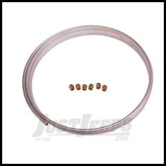 "Omix-ADA Brake or Fuel Line Universal Steel 3/8"" Coil With 6 Fittings (25 ft) 16737.83"