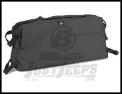 BESTOP RoughRider Saddle Bag In Black Denim For 1992-06 Jeep Wrangler YJ & TJ/TLJ Unlimited Models 54108-15