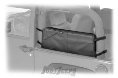 BESTOP RoughRider Saddle Bag In Black Diamond For 2007-18 Jeep Wrangler JK 2 Door Models 54110-35