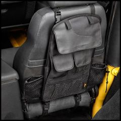 BESTOP RoughRider Seat Back Organizer For 1997-20+ Jeep Wrangler TJ, JK & Wrangler JL/JT (Single) 54132-35