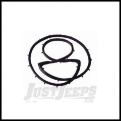 Omix-ADA Liftgate Outer Seal With Plastic Locks For 1976-86 Jeep CJ7 12304.01