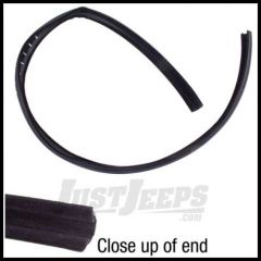 Omix-ADA Weather Door Glass Seal Right or Left Side For 1976-86 Jeep CJ5 CJ7 CJ8 And 1987-95 Jeep Wrangler YJ (Full Doors) 12303.05