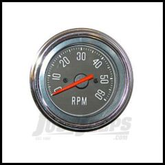 Omix-ADA Tachometer For 1976-86 Jeep CJ Series OE Style Fits 4, 6 or 8 Cyl 17215.02