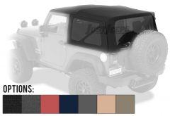 BESTOP Supertop NX Soft Top (OEM Style) For 2007-18 Jeep Wrangler JK 2 Door Models 54822-