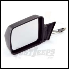 Omix-ADA Mirror Manual Remote Control Driver Side Black for 1984-96 Jeep Cherokee 12035.11