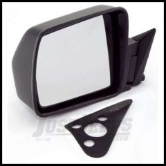 Omix-ADA Mirror Manual Control Driver Side Black for 1984-96 Cherokee XJ 12035.09
