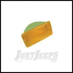 Omix-ADA Signal Lamp Lens Front Amber Driver or Passenger For 1997-06 Jeep Wrangler TJ 12405.11