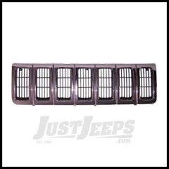 Omix-ADA Grill Dark Chrome Argent For 1996-98 Jeep Grand Cherokee ZJ 12037.14