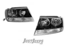 Crown Automotive Headlights For 2002-04 Jeep Grand Cherokee WJ Models 55155128AJ-