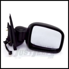 Omix-ADA Mirror Black Power Heated Passenger Side For 2002-06 Jeep Liberty KJ 12042.14