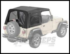 BESTOP Supertop Replacement Skin With Tinted Windows In Black Denim For 1997-06 Jeep Wrangler TJ Models 55629-15