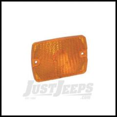 Omix-ADA Signal Lamp Lens Front Amber Left or Right For 1987-93 Jeep Wrangler YJ 12405.10