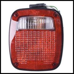 Omix-ADA Tail Lamp Driver Side Assembly BLACK For 1991-97 Wrangler 12403.13