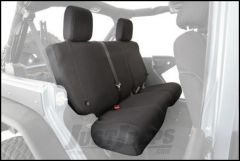 SmittyBilt G.E.A.R. Custom Fit Rear Seat Cover in Black For 1997-02 Jeep Wrangler TJ Models 56647101