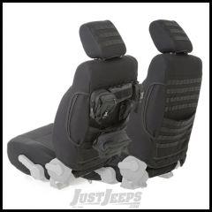 SmittyBilt G.E.A.R. Custom Fit Front Seat Covers in Black For 2013-17 Jeep Wrangler JK & Wrangler JK Unlimited Models 56647701