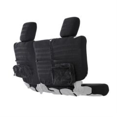 SmittyBilt Rear G.E.A.R. Custom Fit Seat Covers Black For 2013+ Jeep Wrangler JK 4 Door 56647901