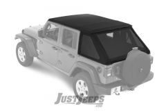 BESTOP Trektop NX Soft Top For 2018+ Jeep Wrangler JL Unlimited 4 Door Models 56863-