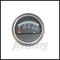 Omix-ADA Oil Pressure Gauge For 1976-86 Jeep CJ Series Factory Style 17215.04