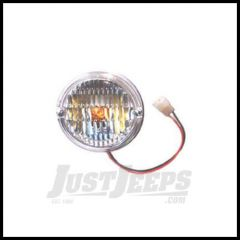 Omix-ADA Park/Signal Lamp Assembly Front With Clear Lens 1976-86 Jeep CJ Series 12405.06
