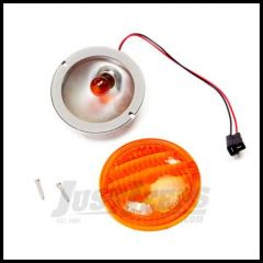 Omix-ADA Parking Lamp Assembly with Amber Lens For 1976-86 Jeep CJ Series 12405.07