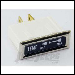 "Omix-ADA Indicator Lamp ""Temp"" for Jeep CJ 1976-86 13319.05"