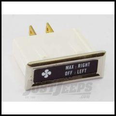 "Omix-ADA Indicator Lamp ""Fan"" for Jeep CJ 1976-86 13319.07"