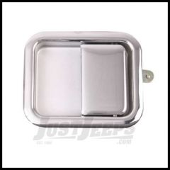 Omix-ADA Full Steel Door Paddle Handle (Chrome) Left Hand For 1981-86 Jeep CJ 1987-06 Wrangler YJ & (TJ Right Hand) 11812.03