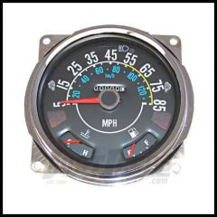 Omix-ADA Speedometer Assembly For 1980-86 CJ Series OE Style With Fuel & Temp Guages 5-85 Miles 17206.05