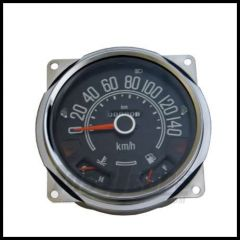 Omix-ADA Speedometer Assembly For 1980-86 CJ Series OE Style With Fuel & Temp Guages 0-140 KPH 17205.03