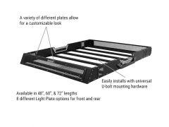 Go Rhino RB10 SRM100 48 Inch Roof Rack For 2007-18 Jeep Wrangler JK & JL 2 Door & Unlimited 4 Door Models