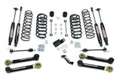 """TeraFlex 4"""" Performance Suspension System With Shocks For 1997-06 Jeep Wrangler TJ & Unlimited 1456432"""