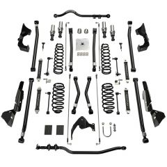 "TeraFlex 4"" Alpine CT4 Prerunner Long Arm Suspension System Without No Shocks For 2007-18 Jeep Wrangler JK 2 Door 1145042"