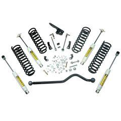 "Alloy USA 4"" Suspension Lift Kit With Shocks For 2007-18 Jeep Wrangler JK 2 Door Models 61404"