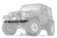WARN Rock Crawler Front Bumper For 1997-06 Jeep Wrangler TJ & Unlimited Models 61853