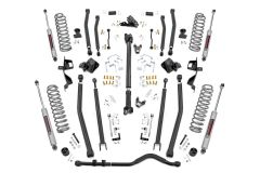 """Rough Country 4"""" Long Arm Suspension Lift Kit   For 2018 Jeep Wrangler JL Unlimited 4 Door Non-Rubicon 61930"""