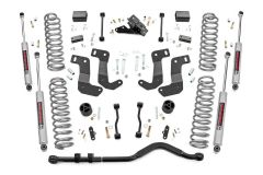 Rough Country 3.5in Suspension Lift Kit with Control Arm Drop For 2018+ Jeep Wrangler JL 2 Door Models 62930
