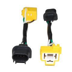KC HiLiTES Headlight Conversion Cable H4/H13 For Various Jeeps 6307