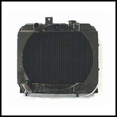 Omix-ADA Radiator 2 Core For 1941-45 Jeep Willys MB And 1945-49 CJ2A With Shroud 17101.01
