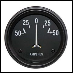 Omix-ADA Amp Gauge For 1941-60 Jeep CJ And Willys MB 17210.01