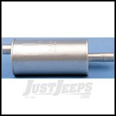 Omix-ADA Muffler For 1946-71 Jeep M & CJ Series With 134 (Round) 17609.02